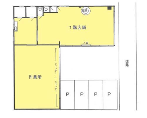 相模原市中央区 JR横浜線淵野辺駅の貸倉庫画像(1)