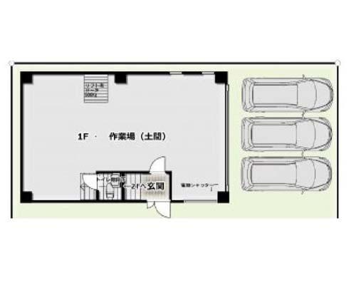 横浜市鶴見区 JR鶴見線国道駅の貸倉庫画像(1)