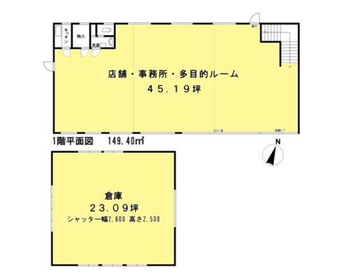 横浜市都筑区 グリーンライン川和町駅の貸倉庫画像(1)