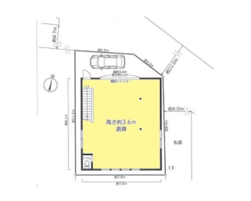 川崎市中原区 東急東横線日吉駅の貸倉庫画像(1)