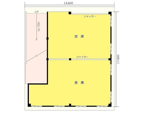 横浜市緑区 JR横浜線十日市場駅の貸倉庫画像(1)