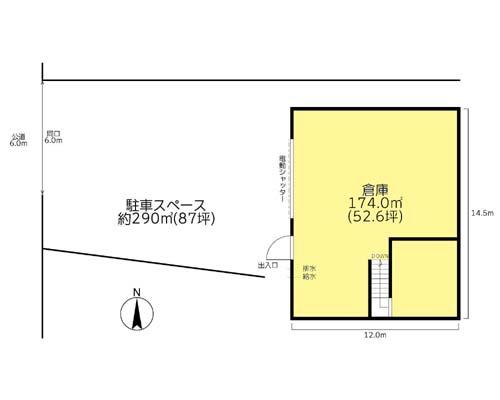 藤沢市 小田急江ノ島線湘南台駅の貸倉庫画像(1)