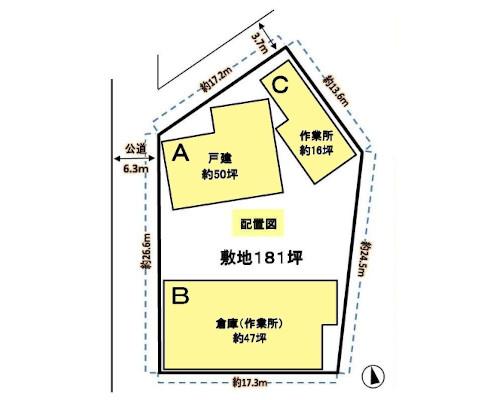 横浜市都筑区 グリーンライン東山田駅の貸工場・貸倉庫画像(1)
