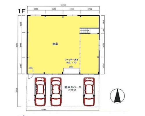 横浜市港北区 東急東横線綱島駅の貸工場・貸倉庫画像(1)