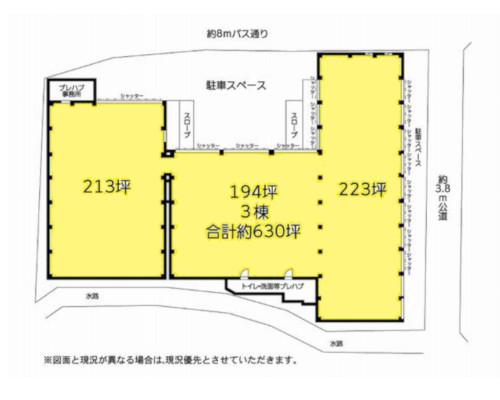 横浜市神奈川区 相鉄線西谷駅の貸倉庫画像(1)
