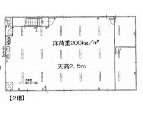 横浜市西区 相鉄線平沼橋町駅の貸倉庫画像(2)