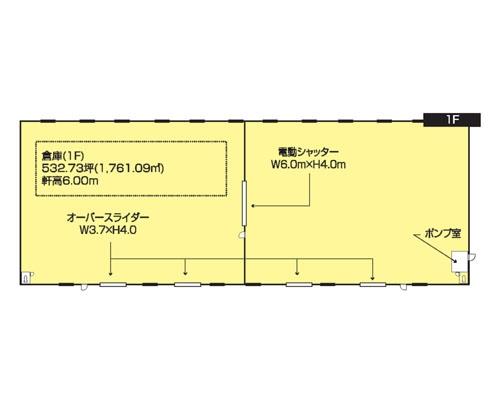 深谷市 秩父鉄道秩父本線武川駅の貸工場・貸倉庫画像(2)