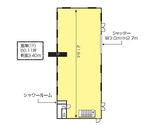所沢市 西武狭山線西武球場前駅の貸倉庫画像(1)