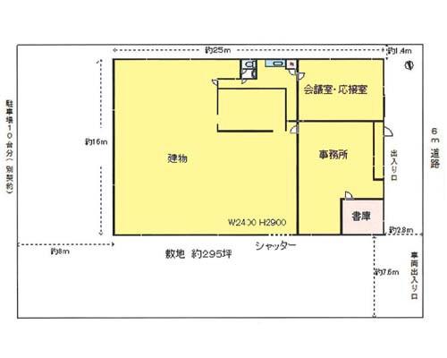 所沢市 JR武蔵野線東所沢駅の貸倉庫画像(1)