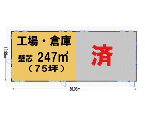川越市 西武新宿線南大塚駅の貸工場・貸倉庫画像(1)