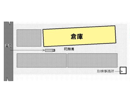 入間郡三芳町 東武東上線みずほ台駅の貸倉庫画像(1)