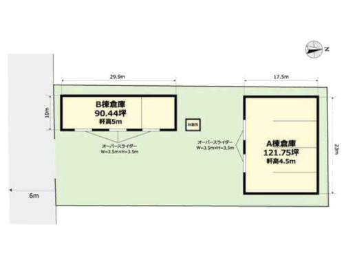 熊谷市 秩父鉄道熊谷駅の貸倉庫画像(1)