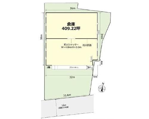 狭山市 西武新宿線新狭山駅の貸工場・貸倉庫画像(1)