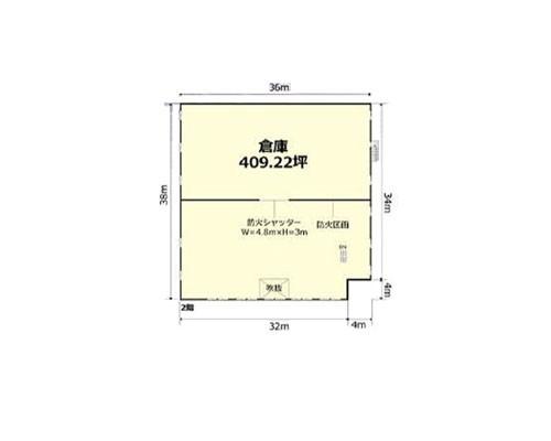 狭山市 西武新宿線新狭山駅の貸工場・貸倉庫画像(2)