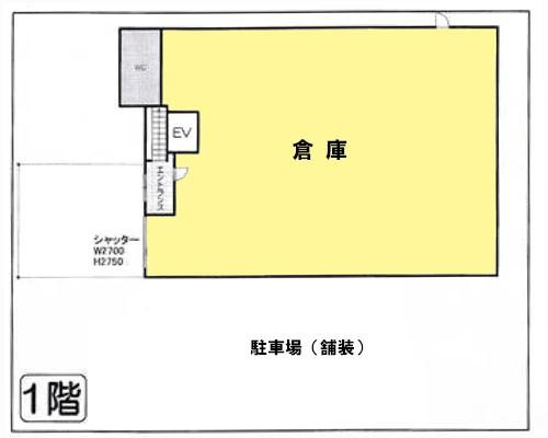 入間市 西武池袋線武蔵藤沢駅の貸倉庫画像(1)