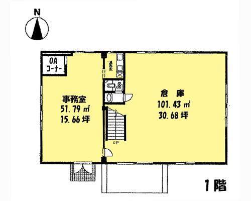さいたま市北区 埼玉新都市交通伊奈線加茂宮駅の貸倉庫画像(1)