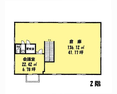さいたま市北区 埼玉新都市交通伊奈線加茂宮駅の貸倉庫画像(2)