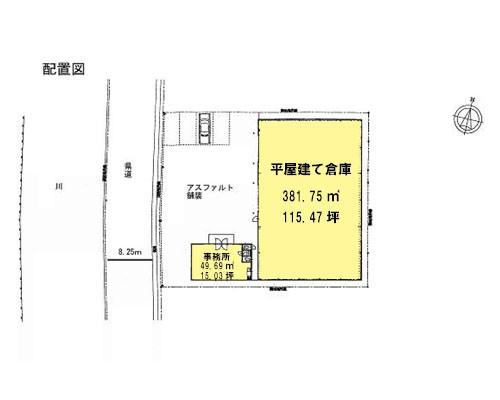 吉川市 JR武蔵野線吉川駅の貸倉庫画像(1)