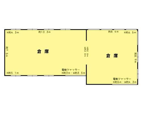 所沢市 西武新宿線新所沢駅の貸倉庫画像(1)