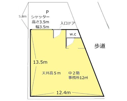 さいたま市南区 JR武蔵野線西浦和駅の貸倉庫画像(1)