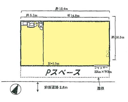 蕨市 JR京浜東北線西川口駅の貸工場・貸倉庫画像(1)