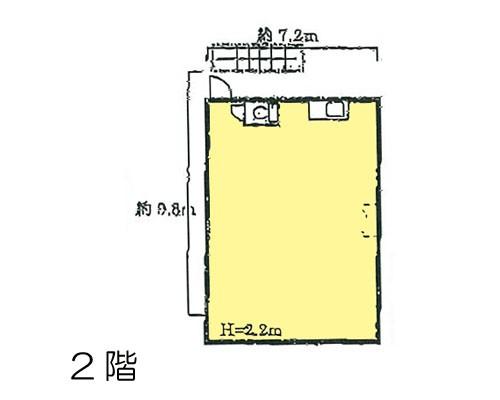 蕨市 JR京浜東北線西川口駅の貸工場・貸倉庫画像(2)