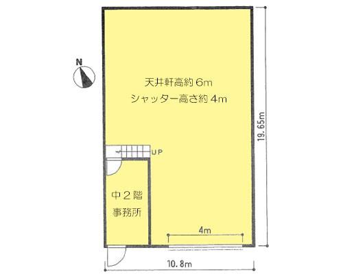 川口市 東武伊勢崎線草加駅の貸工場・貸倉庫画像(1)
