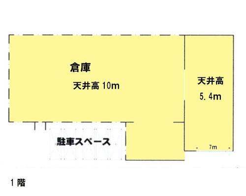 北足立郡伊奈町 埼玉新都市交通伊奈線丸山駅の貸倉庫画像(1)