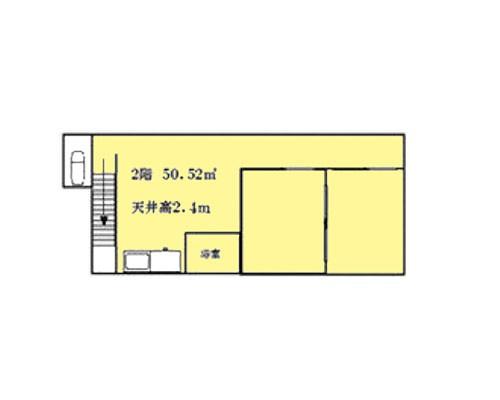 入間郡三芳町 東武東上線鶴瀬駅の貸倉庫画像(2)