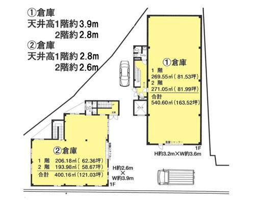 草加市 日暮里・舎人ライナー見沼代親水公園駅の貸倉庫画像(1)