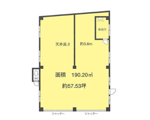 新座市 JR武蔵野線新座駅の貸工場・貸倉庫画像(1)