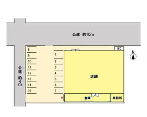 白岡市 JR東北本線白岡駅の貸倉庫画像(1)