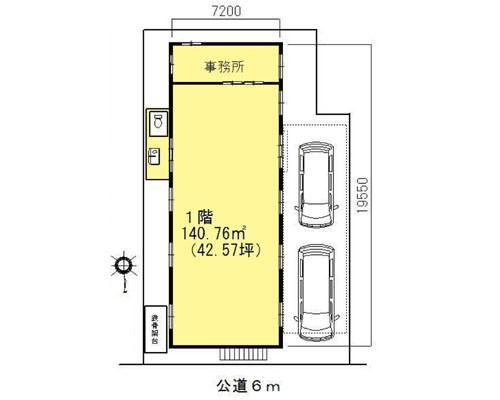川口市 埼玉高速鉄道鳩ヶ谷駅の貸工場・貸倉庫画像(1)