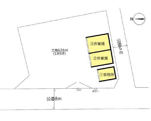 越谷市 東武伊勢崎線大袋駅の貸工場・貸倉庫画像(1)