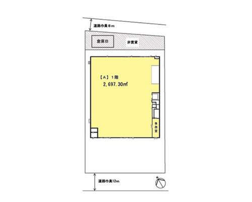 川越市 東武東上線若葉駅の貸倉庫画像(1)