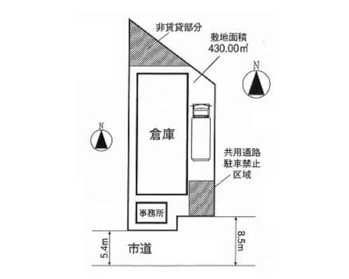 さいたま市南区 JR武蔵野線西浦和駅の貸倉庫画像(3)