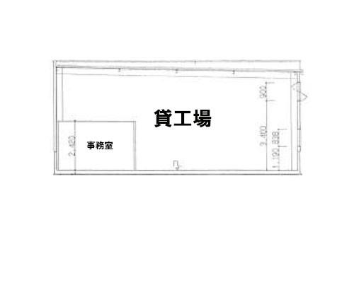 飯能市 西武池袋線元加治駅の貸工場・貸倉庫画像(1)