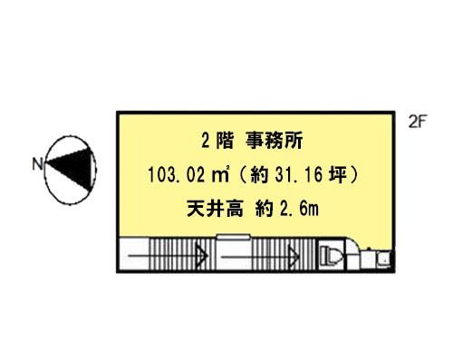川口市 JR京浜東北線西川口駅の貸工場・貸倉庫画像(2)