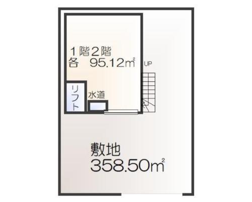 春日部市 東武野田線藤の牛島駅の貸倉庫画像(1)