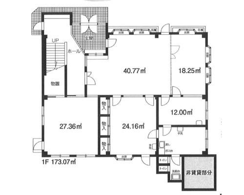 川越市 東武東上線鶴ヶ島駅の貸店舗画像(1)