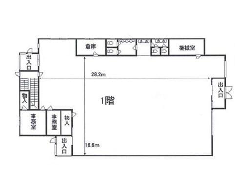 北本市 JR高崎線鴻巣駅の貸倉庫画像(1)