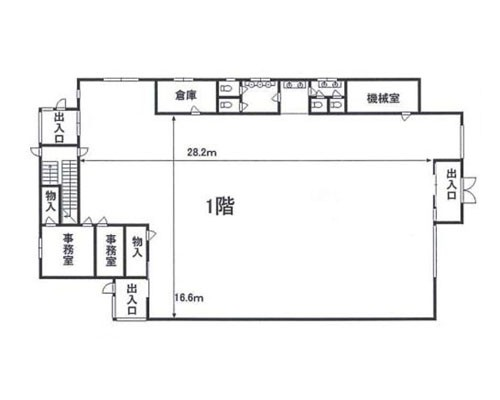 北本市 JR高崎線鴻巣駅の貸事務所画像(1)