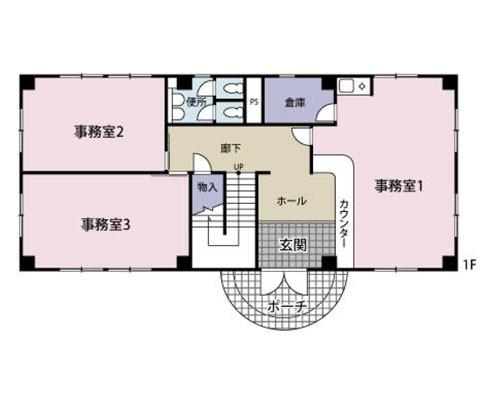 久喜市 JR東北本線栗橋駅の貸事務所画像(1)