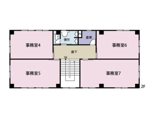 久喜市 JR東北本線栗橋駅の貸事務所画像(2)