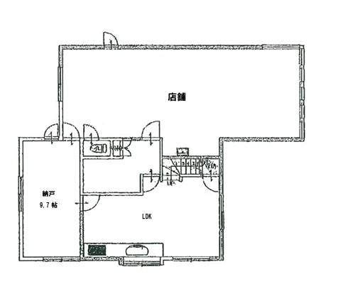 川口市 埼玉高速鉄道鳩ヶ谷駅の貸倉庫画像(1)