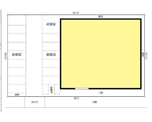 越谷市 東武伊勢崎線北越谷駅の貸倉庫画像(1)