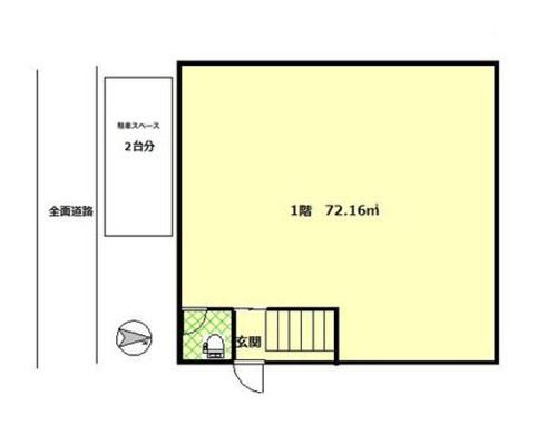 久喜市 JR東北本線東鷲宮駅の貸事務所画像(1)