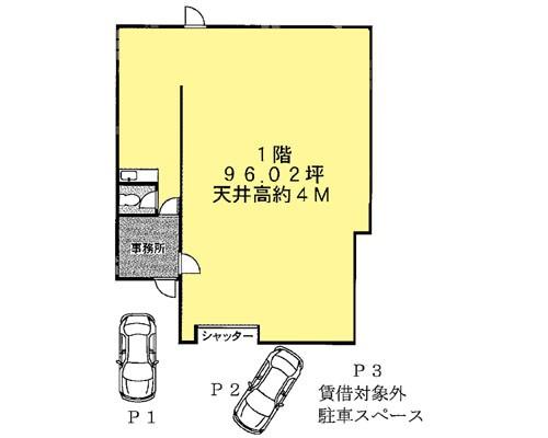 川口市 JR京浜東北線蕨駅の貸事務所画像(1)