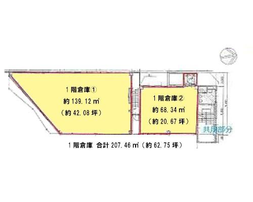 さいたま市南区 JR京浜東北線南浦和駅の貸倉庫画像(1)