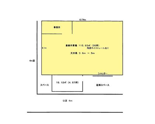 川口市 埼玉高速鉄道新井宿駅の貸倉庫画像(1)